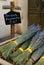 Stock Image :  Сухие букеты лаванды в Провансали