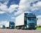 Stock Image : тележки перевозки принципиальной схемы груза каравана