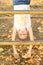 Stock Image : Усмехаясь девушка смертной казни через повешение