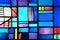 Stock Image : Цветное стекло