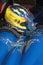 Stock Image :  Шлем и перчатки