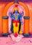 Stock Image :  上帝Vishnu