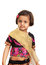 Stock Image : 传统亚裔黑人礼服的女孩
