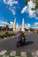 Stock Image :  在民主纪念碑泰国附近的交通