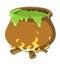 Stock Image : 巫婆的大锅