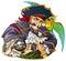 Stock Image :  强大海盗