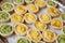 Stock Image :  微型乳蛋饼
