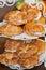 Stock Image :  新月形面包三明治