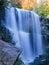 Stock Image :  水墙壁在秋天