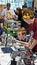 Stock Image : 状态青少年的机器人学竞争