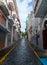 Stock Image : 狭窄的街道
