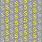 Stock Image :  美元的符号金和银样式
