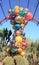 Stock Image : 美国, AZ :Chihuly展览- Polyvitro枝形吊灯, 2006年