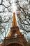 Stock Image :  艾菲尔铁塔,巴黎,晚上黄昏的法国