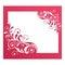Stock Image :  花卉框架葡萄酒