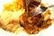Stock Image : 被烘烤的鸡
