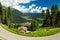 Stock Image :  谷在南蒂罗尔,白云岩,意大利
