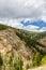 Stock Image :  Δύσκολοι λόφοι βουνών του Κολοράντο