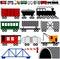 Stock Image : Двигатель и автомобили поезда