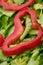 Stock Image : Деталь салата