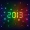 Stock Image : 2013 New year background