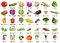 Stock Image : 35 Vegetables icons