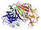 Stock Image : 3d enzymu modela pepsyna