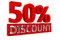Stock Image : 50% Discount