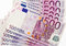 Stock Image : 500 euro banknotes