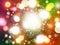 Stock Image : Abstract colorful circular bokeh background