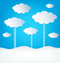 Stock Image : Abstract Design Clouds