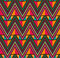 Stock Image : Abstract Ethnic Seamless Geometric Pattern