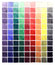 Stock Image : Abstract watercolor colorful gradient squares