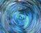 Stock Image : Abstracte Blauwe Achtergrond