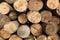 Stock Image :  Achtergronden van de logboek de houten textuur