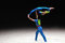 Stock Image : Acrobatic gymnastics