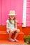 Stock Image : Adorable little girl