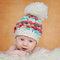 Stock Image : Adorable portrait of two months old baby