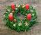 Stock Image : Advent wreath