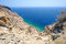 Stock Image : Aegean sea on Santorini island in Greece