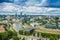 Stock Image : Aerial view from Gediminas tower
