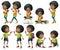 Stock Image : African-American kids