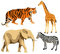 Stock Image : African animals