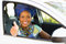 Stock Image : African driver thumb up