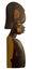 Stock Image : African wood sculpture