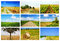 Stock Image : Agriculture collage