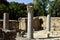 Stock Image : Agrippa palace ruins, Israel