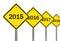 Stock Image : 2015 Ahead