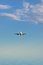 Stock Image : Airplane in the sky