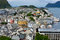 Stock Image : Alesund city. Norway.